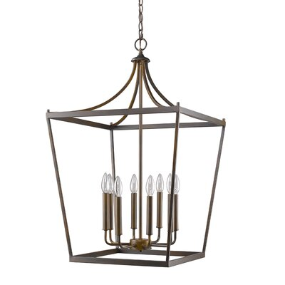 Rancourt 8-Light Foyer Pendant
