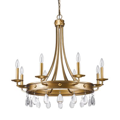 Lipscomb 8-Light Candle-Style Chandelier