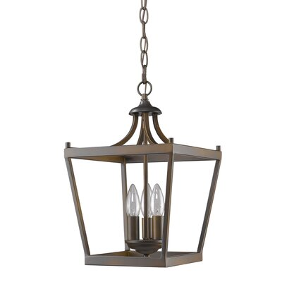 Rancourt 3-Light Foyer Pendant