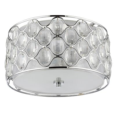 Keifer 3-Light Flush Mount