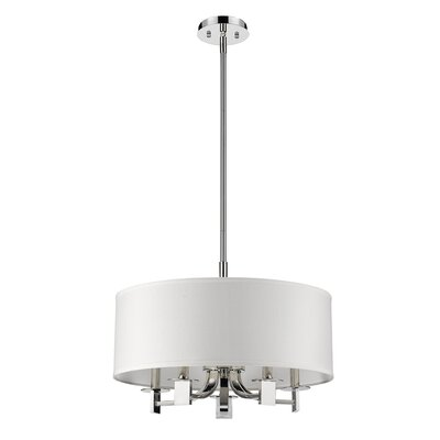 Andrea 5-Light Drum Pendant