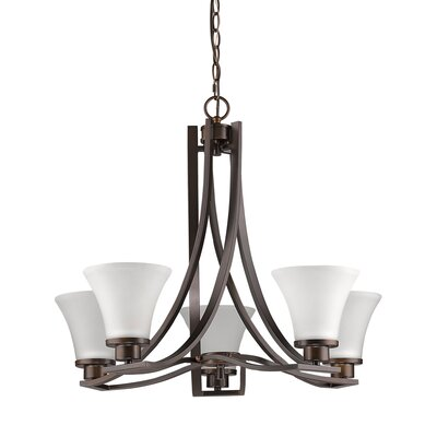 Vanhook 5-Light Shaded Chandelier