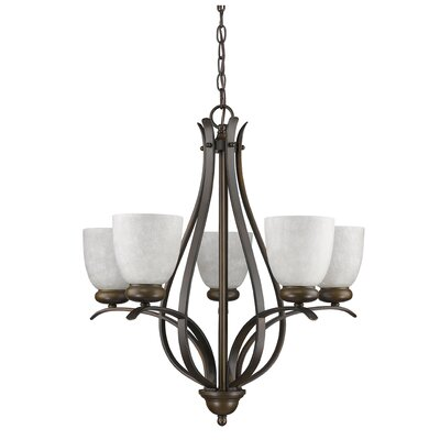 Alana 5-Light Shaded Chandelier