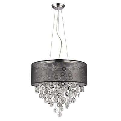 Kintzel 6-Light Drum Pendant