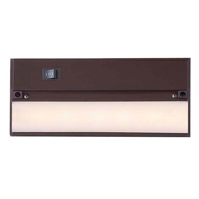 9 LED Under Cabinet Bar Light Finish: Matte Bronze
