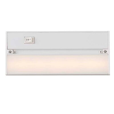 9 LED Under Cabinet Bar Light Finish: Gloss White