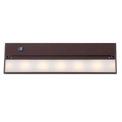 14 LED Under Cabinet Bar Light Finish: Matte Bronze