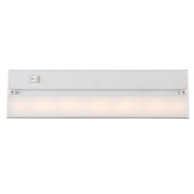 14 LED Under Cabinet Bar Light Finish: Gloss White