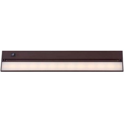 22 LED Under Cabinet Bar Light Finish: Matte Bronze