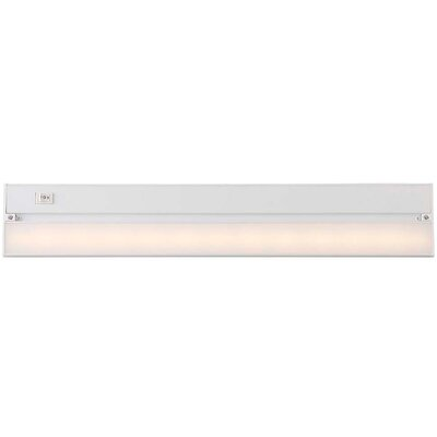 22 LED Under Cabinet Bar Light Finish: Gloss White