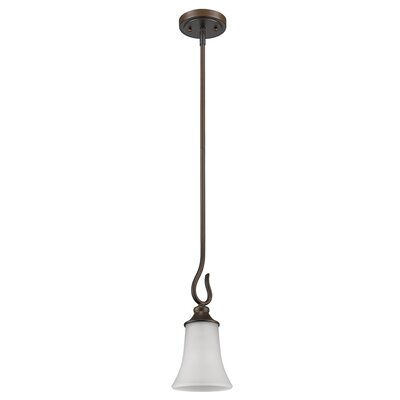 Michelle 1-Light Mini Pendant Base Finish: Oil Rubbed Bronze