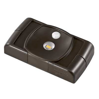 Battery Operated LED Under Cabinet Puck Light Finish: Bronze