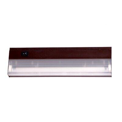 12.25 Fluorescent Under Cabinet Bar Light Finish: Bronze