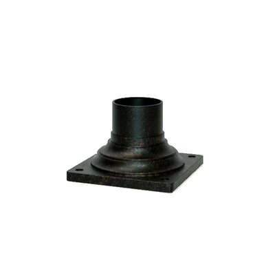 Pier Mount Adapter Finish: Black Gold