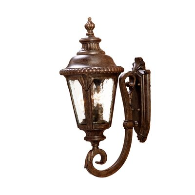 Surrey 3-Light Outdoor Sconce Finish: Black Coral
