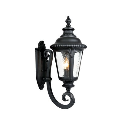 Surrey 3-Light Outdoor Sconce Finish: Matte Black