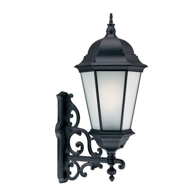 Richmond 1-Light Outdoor Sconce Finish: Matte Black