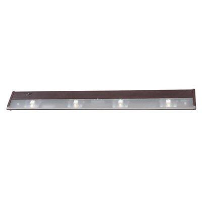 32 Xenon Under Cabinet Bar Light Finish: Bronze