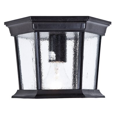 Grenville 1-Light Cast Aluminum Flush Mount
