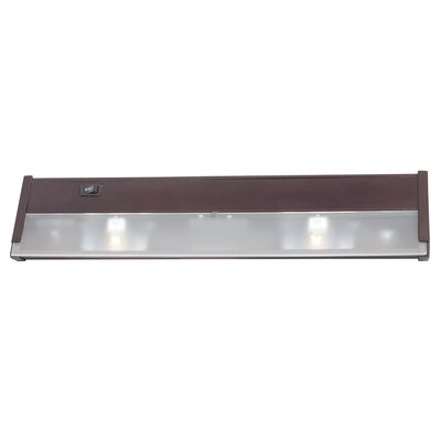 16 Xenon Under Cabinet Bar Light Finish: Bronze