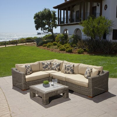 Resort Collection Deep Seating Group Weathered Grey picture