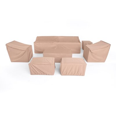 Furniture Covers for Modular 8pc Seating Group