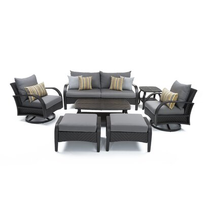 Cumberland 7 Piece Sunbrella Sofa Set with Cushions