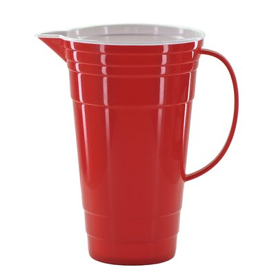 Red Party Pitcher 407-3