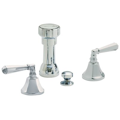 Monterey Double Handle Vertical Spray Bidet Finish: Satin Nickel