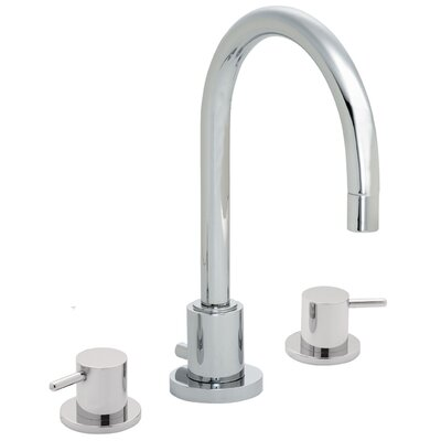 Avalon Double Handle Widespread Lavatory Faucet Finish: Polished Chrome