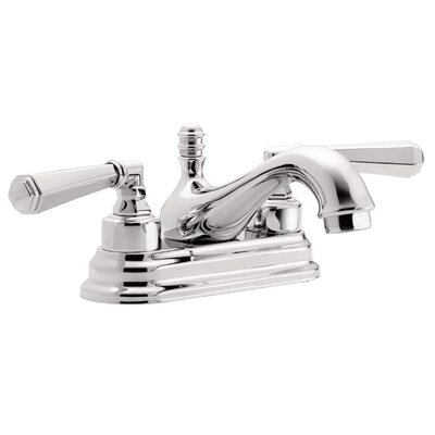 Monterey Two Handle Centerset Bathroom Faucet Finish: Satin Nickel