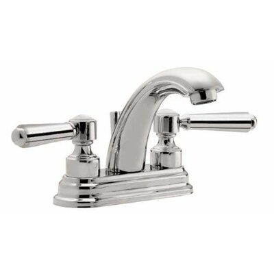 "Topanga ""J"" Style Double Lever Centerset Bathroom Faucet Finish: Bella Terra Bronze"