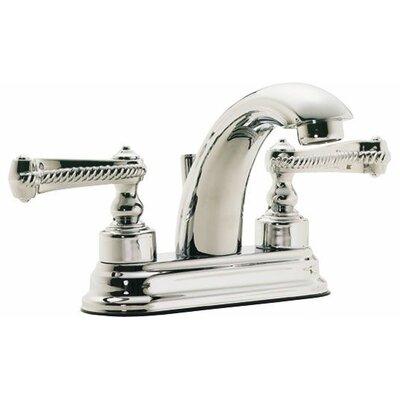 "Santa Monica ""J"" Style Double Handle Centerset Bathroom Sink Faucet Finish: Bella Terra Bronze"