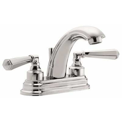"Monterey ""J"" Style Double Handled Centerset Bathroom Faucet Finish: Polished Nickel"
