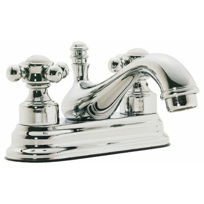 Venice Double Handle Centerset Bathroom Sink Faucet Finish: Polished Nickel