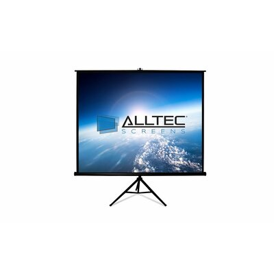 Tripod Portable Projection Screen Viewing Area: 80 H x 80 W