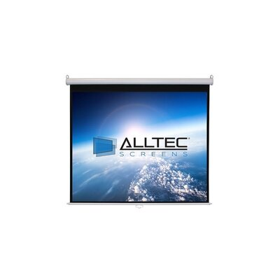 Matte White Manual Projection Screen Viewing Area: 74