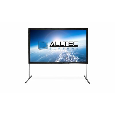 Folding Portable Projection Screen Viewing Area: 72 H x 96 W