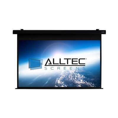 Matte White Electric Projection Screen Viewing Area: 74 H x 131 W