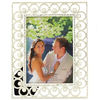 Jeanine Circles with Pearls Picture Frame Y103357