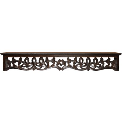 Seth Decorative Wood Ledge Size: 5.5 H x 36 W