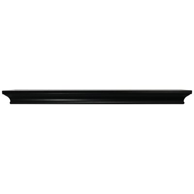 Trea Ledge Size: 1.75 H x 24 W x  4 D, Color: Black