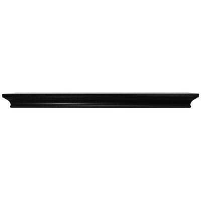 Trea Ledge Size: 1.75 H x 24 W x  4 D, Color: Black