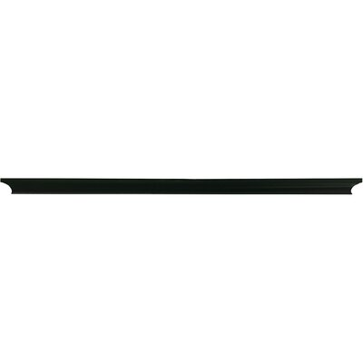 Trea Ledge Color: Black, Size: 1.75 H x 36 W x  4 D
