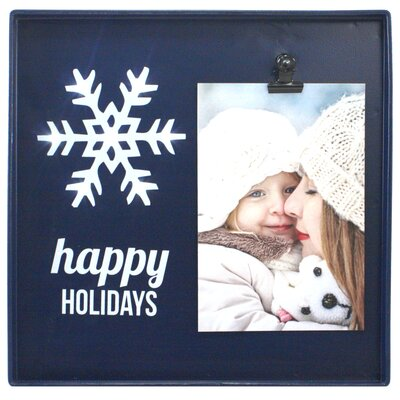 Snapshots Happy Holidays Picture Frame D6568446