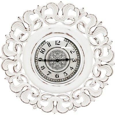 Spada Oversized Wall Clock Color: White