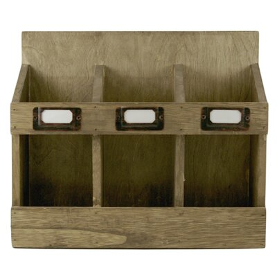 Soire 3 Bottle Tabletop Wine Rack