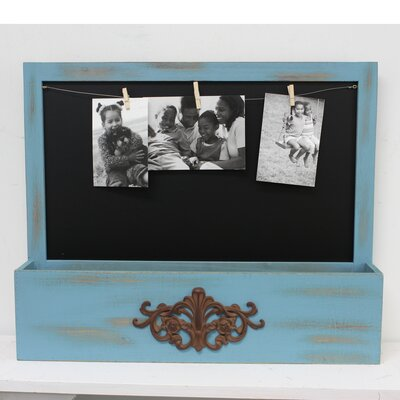 Gaige Cubby Picture Frame Color: Blue F65717A