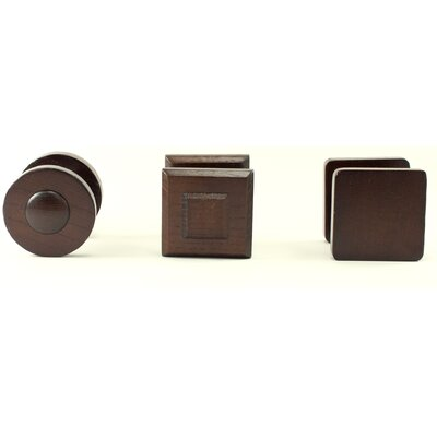3 Piece Telford Hanging Knob Wall Decor