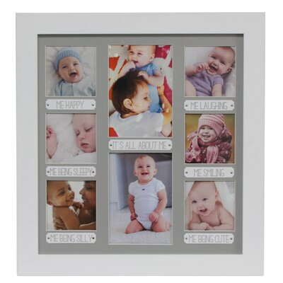 Matteo Newborn All About Me Picture Frame